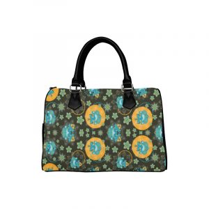 Ganesh Print on Black Handbag