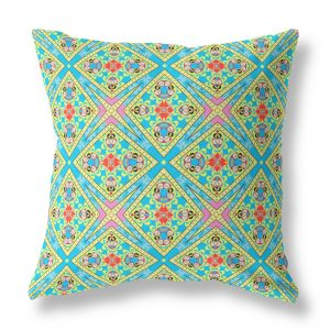 Lotus Flower Indoor Throw Pillow