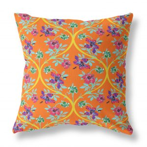 Rose Garden Indoor Throw Pillow