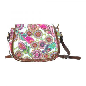 Birds of Cosmic Love Saddle Bag