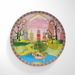 Fish on BollyCity Dinnerware Plate
