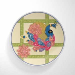 Jail Peacock Dinnerware Plate