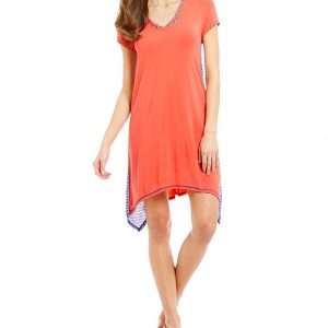 Dreaming Fish Orange Lounge Chemise