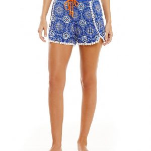 Hypnotizing Hues Medallion Print Lounge Shorts