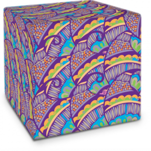 Henna Flower Cube