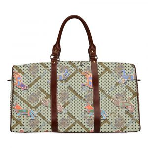 Horse Print Travel Bag