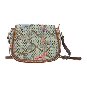 Horse Print Saddle Bag