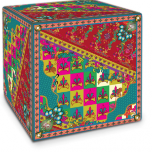 Knights Pattern Cube