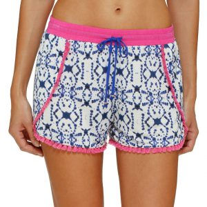 Hypnotizing Hues Drawstring Lounge Shorts