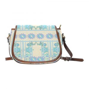 Lotus Flower Saddle Bag