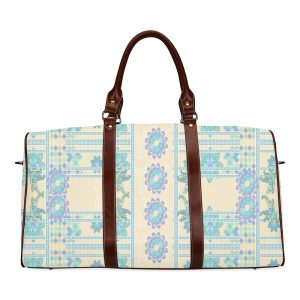 Lotus Flower Travel Bag