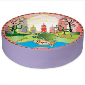 BollyWorld Round Floor Cushion