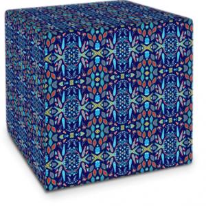 Sword Leaf Blue Cube
