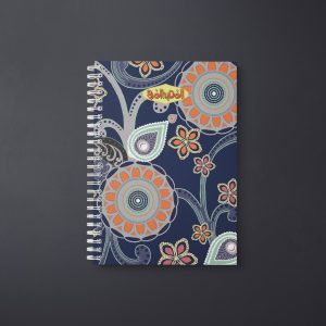 Floral Circles Notebook