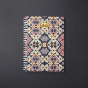 Flower Opal Cross Notebook