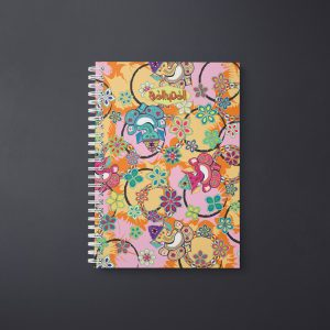Ganesh With Lotus Notebook