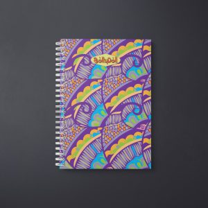 Henna Flower Notebook