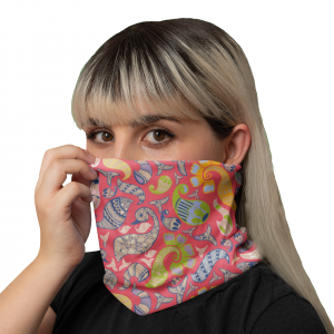 Multi Henna Neck Gaiter