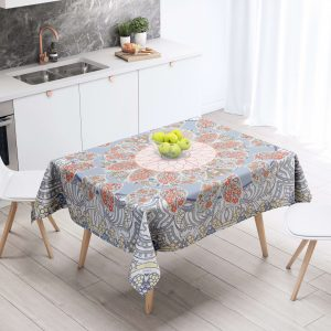 Tree of Life Geo Floral Table Cloth
