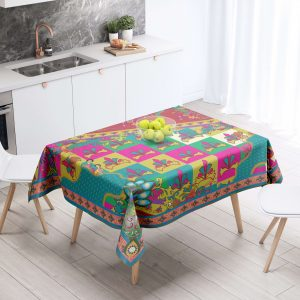 Knights Pattern-With Border Table Cloth