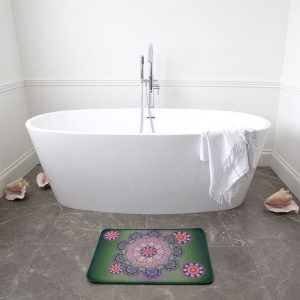 Baroque Mandala Bath Mat