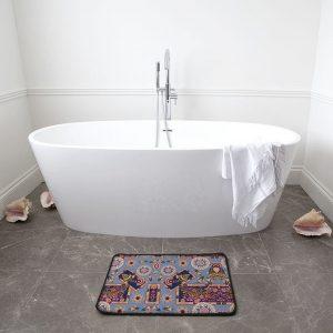 Fish Frame Bath Mat