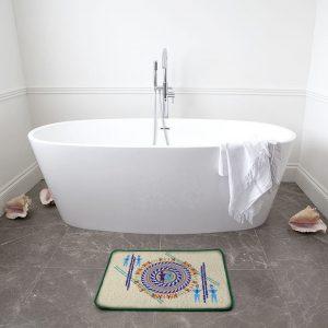 Geo Men Bath Mat