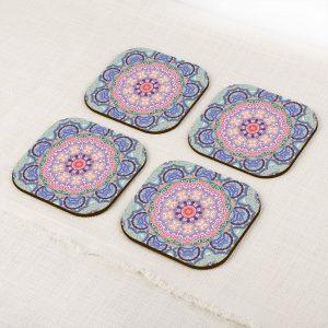 Baroque Mandala Coaster