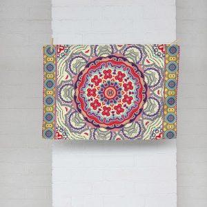 Baroque Mandala Dish Towel